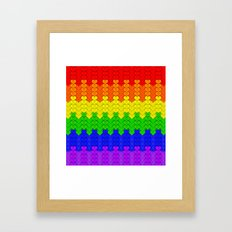 Love All, Judge None Framed Art Print