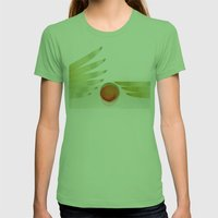 Green 2 | Digital Sessio… Womens Fitted Tee Grass SMALL