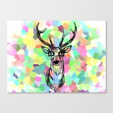 Deer are people too Canvas Print