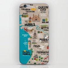 Metro Manila, Philippines iPhone & iPod Skin