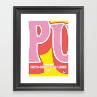 No013 My Kill Bill Minim… Framed Art Print