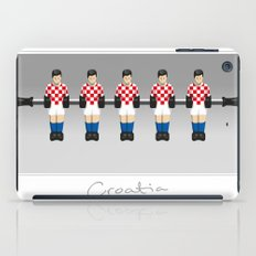 table football - Croatia iPad Case