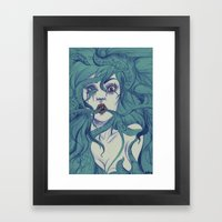 Octopus S.Y. Framed Art Print