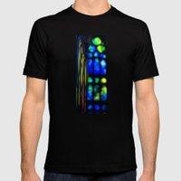 Sagrada Familia Organ Mens Fitted Tee Black SMALL