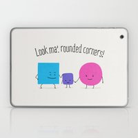 Look Ma', Rounded Corner… Laptop & iPad Skin