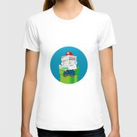 mario T-shirts featuring Mario by Altay