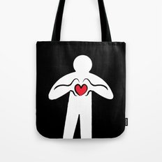 From Haring with Love Tote Bag