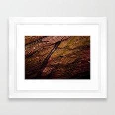 Red Rocks Close Up Framed Art Print