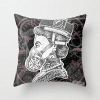Umbrella Queen Throw Pillow