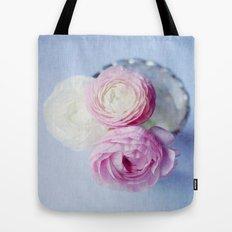 Summer Pastel Ranunculus Tote Bag