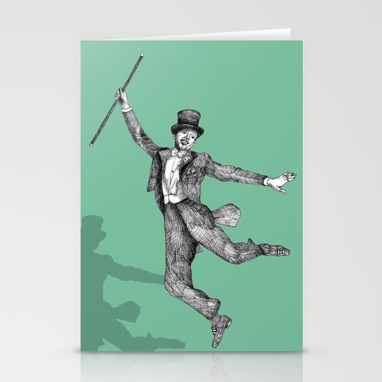 Fred Astaire Stationery Card
