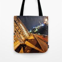 Industrial Light Tote Bag