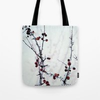 Red Freeze Tote Bag