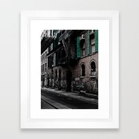 Soho Nyc Framed Art Print