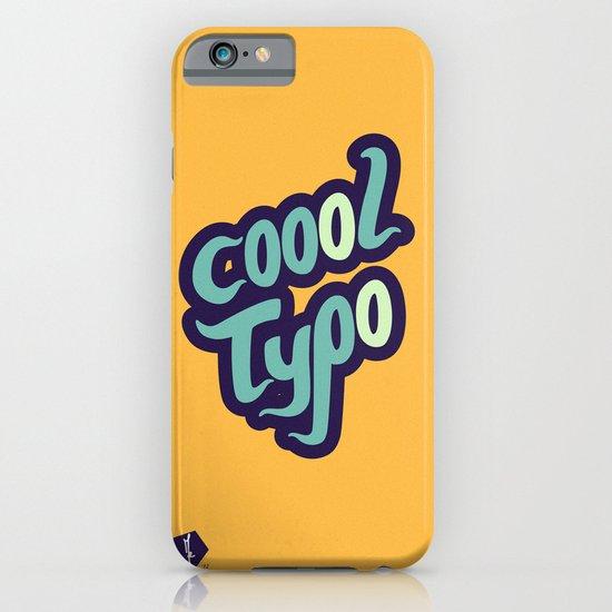 Coool Typo iPhone & iPod Case
