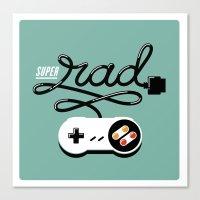 Super Rad Canvas Print