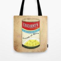 Cream Of Horn Tote Bag
