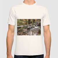 Stepping Stones Mens Fitted Tee Natural SMALL