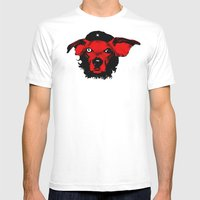 THE BUDDIE x CHE GUEVARA Mens Fitted Tee White SMALL