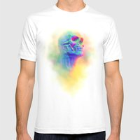 SKULL CANDY Mens Fitted Tee White SMALL