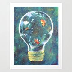 sea of ideas Art Print