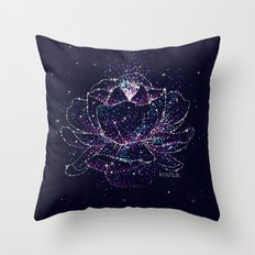 The Big Bloom Throw Pillow