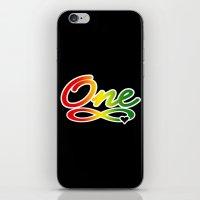 One Love iPhone & iPod Skin