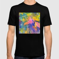 Happy Bright No. 1 Mens Fitted Tee Black SMALL