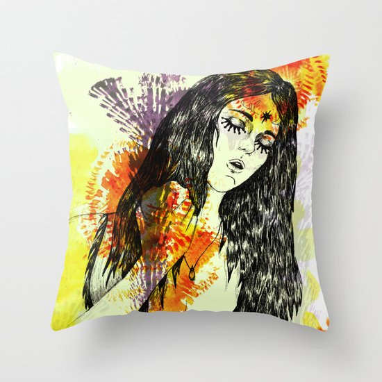 Tribal Beauty 3 Throw Pillow