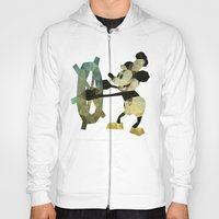 Mickey Mouse As Steamboa… Hoody