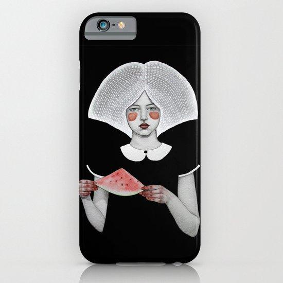 Zora in Black iPhone & iPod Case