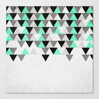 IceFall Canvas Print