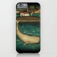 iPhone & iPod Case featuring Whale by Anastasia Tayurskaya