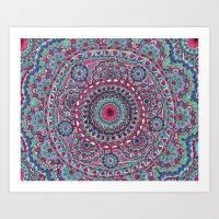 Mesmerizing Mandala Art Print