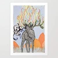 How Glorious Is His Tong… Art Print