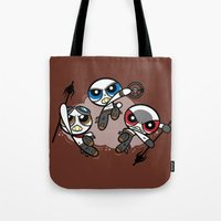 Power War Boys Tote Bag