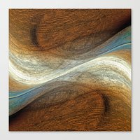 Abstraction VIX Canvas Print