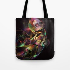 Vivid Skulls of Life Tote Bag