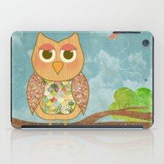 Woodland Owl in a Tree iPad Case