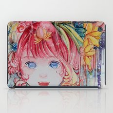 Nadias dream garden iPad Case