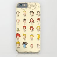 iPhone & iPod Case featuring The Marvelous Cartoon Wigs Museum by Rodrigo Ferreira