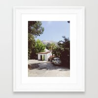 Hollywood, California Framed Art Print