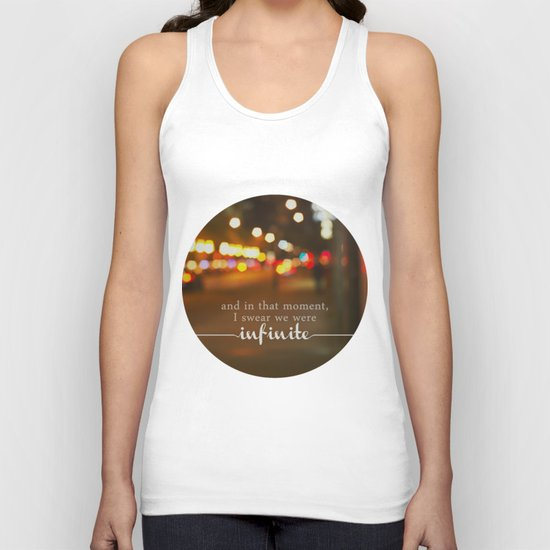 perks of being a wallflower - we were infinite Unisex Tank Top