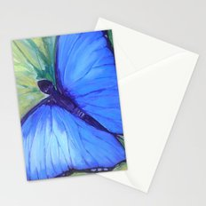 Blue Butterfly: Transfiguration Stationery Cards