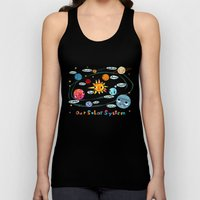 Our Solar System Unisex Tank Top