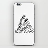 Tricoeur iPhone & iPod Skin