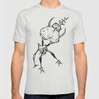 _human error Mens Fitted Tee Silver SMALL