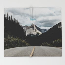 Throw Blanket - Mountain Road - Lost Empire
