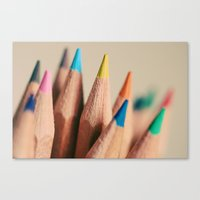 stand out from the crowd Canvas Print