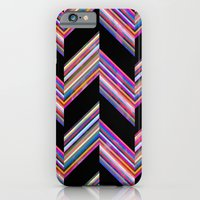 Lilli Chevron {dark} iPhone 6 Slim Case